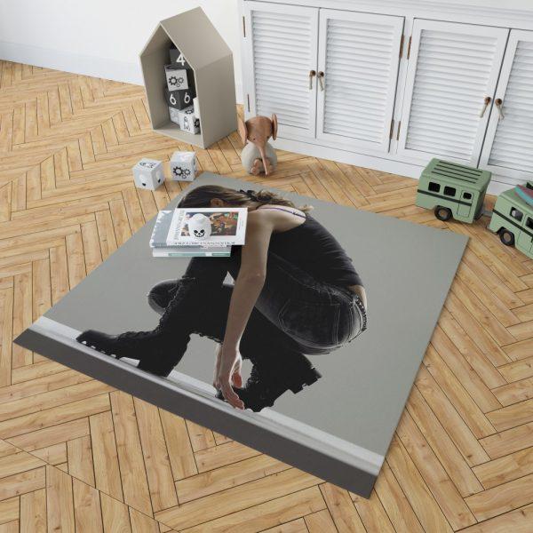 Summer Glau in Terminator The Sarah Connor Chronicles TV Show Bedroom Living Room Floor Carpet Rug 2