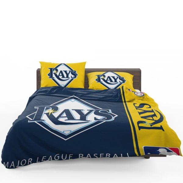 Tampa Bay Rays MLB Baseball American League Bedding Set 1