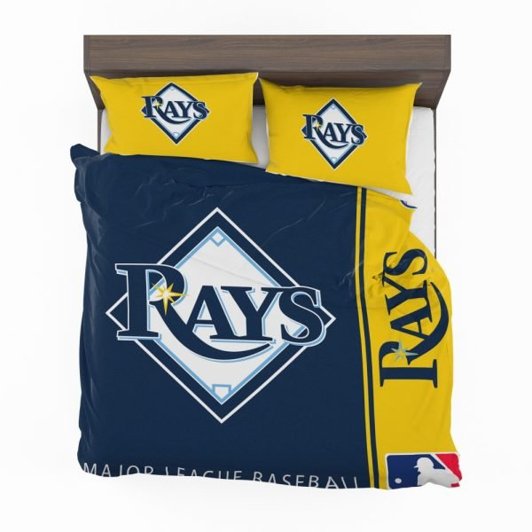 Tampa Bay Rays MLB Baseball American League Bedding Set 2