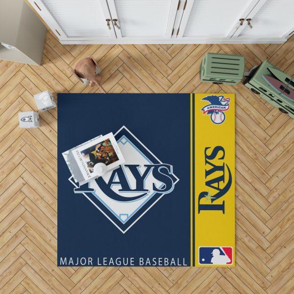 Tampa Bay Rays MLB Baseball American League Floor Carpet Rug Mat 1
