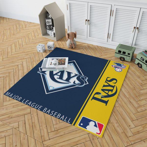 Tampa Bay Rays MLB Baseball American League Floor Carpet Rug Mat 2