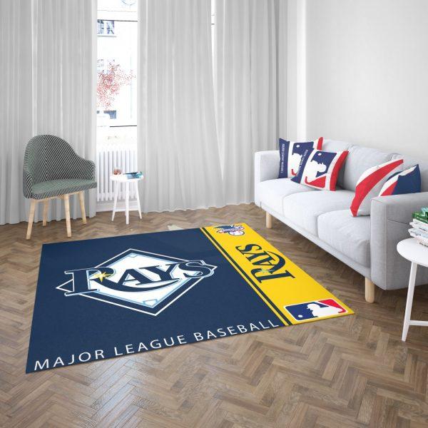 Tampa Bay Rays MLB Baseball American League Floor Carpet Rug Mat 3
