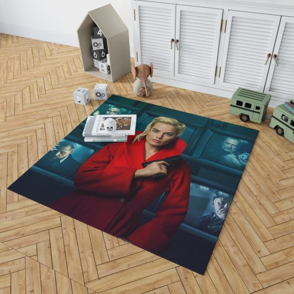 Terminal Margot Robbie Bedroom Living Room Floor Carpet Rug 2
