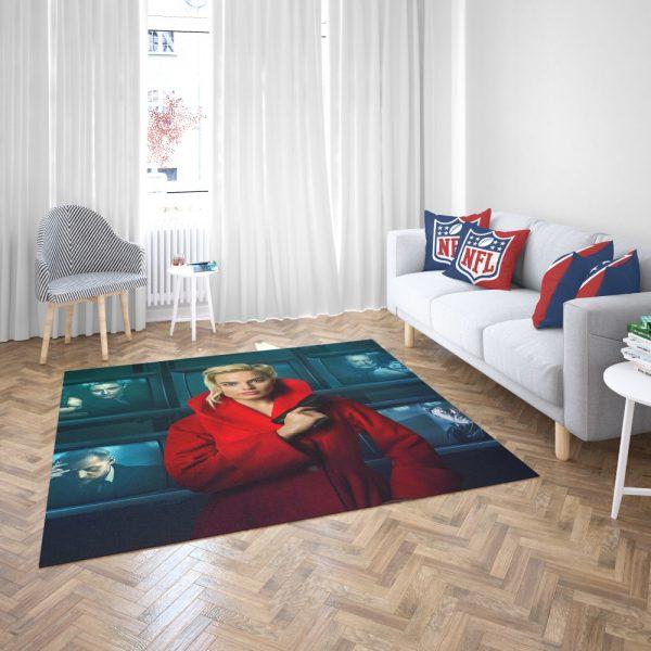 Terminal Margot Robbie Bedroom Living Room Floor Carpet Rug 3
