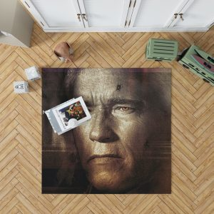 Terminator Genisys Movie Terminator Arnold Schwarzenegger Bedroom Living Room Floor Carpet Rug 1