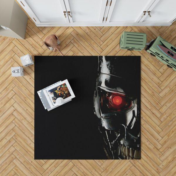 Terminator Movie Genisys Bedroom Living Room Floor Carpet Rug 1
