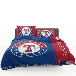 Texas Rangers MLB Baseball American League Bedding Set 1