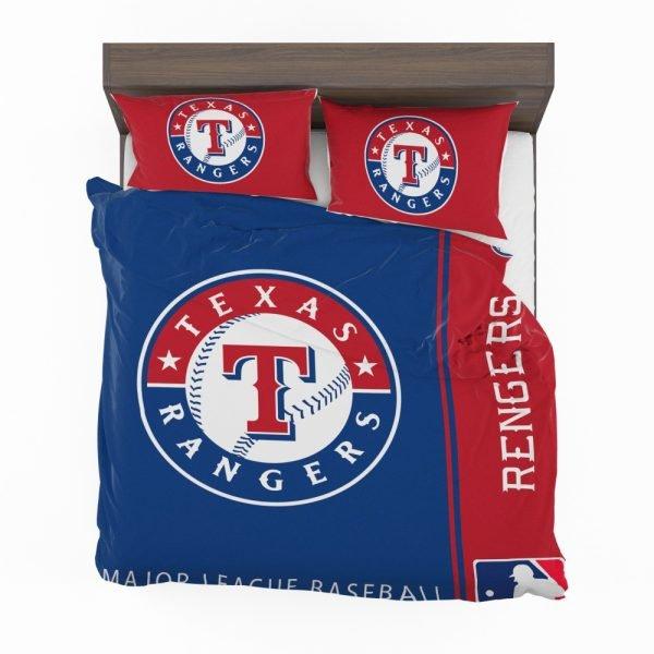 Texas Rangers MLB Baseball American League Bedding Set 2