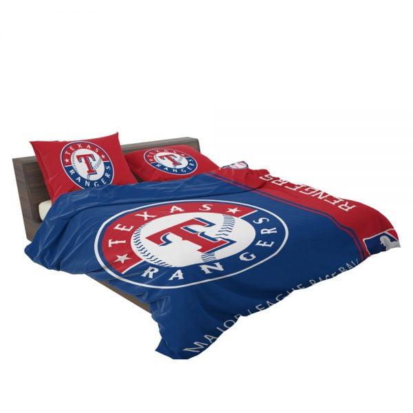 Texas Rangers MLB Baseball American League Bedding Set 3