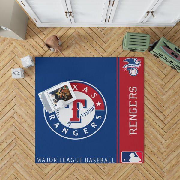 Texas Rangers MLB Baseball American League Floor Carpet Rug Mat 1