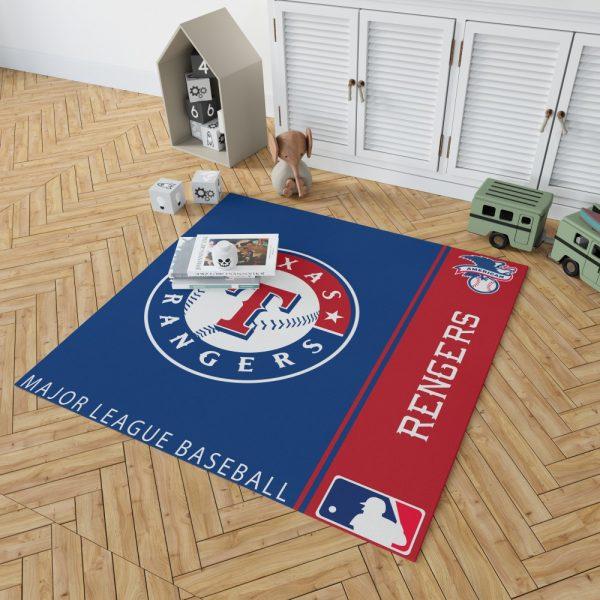 Texas Rangers MLB Baseball American League Floor Carpet Rug Mat 2