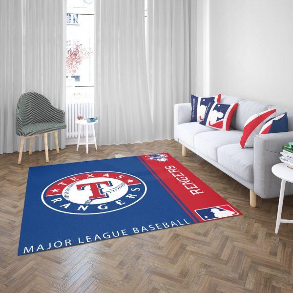 Texas Rangers MLB Baseball American League Floor Carpet Rug Mat 3