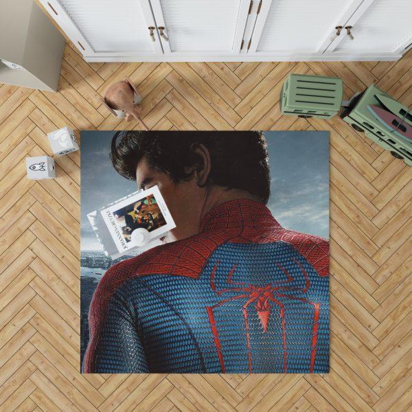 The Amazing Spider-Man Movie Andrew Garfield Bedroom Living Room Floor Carpet Rug 1