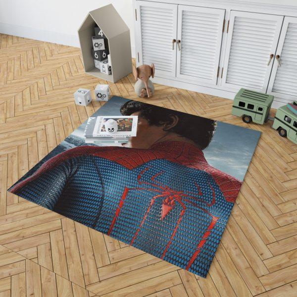 The Amazing Spider-Man Movie Andrew Garfield Bedroom Living Room Floor Carpet Rug 2
