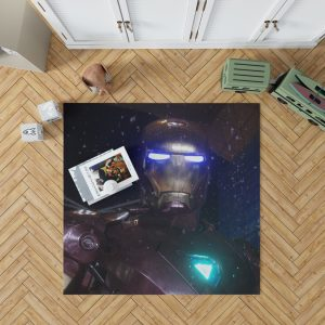 The Avengers Movie Iron Man Bedroom Living Room Floor Carpet Rug 1