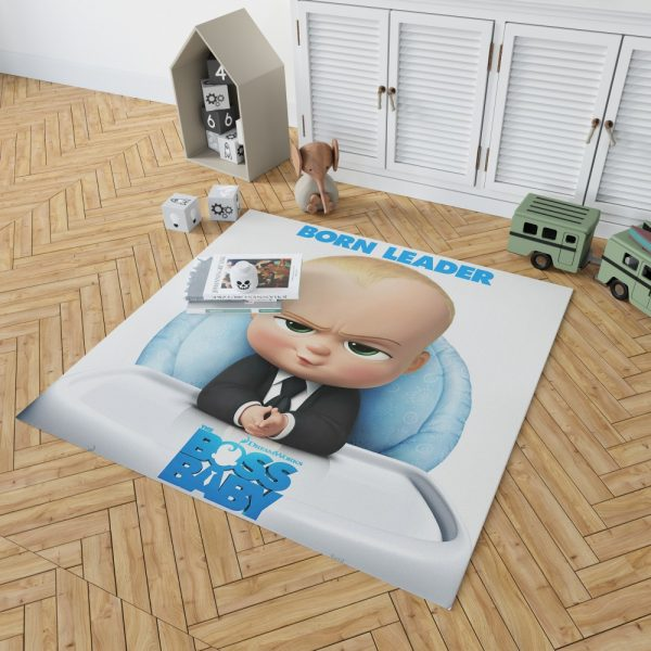 The Boss Baby Animation Movies Bedroom Living Room Floor Carpet Rug 2