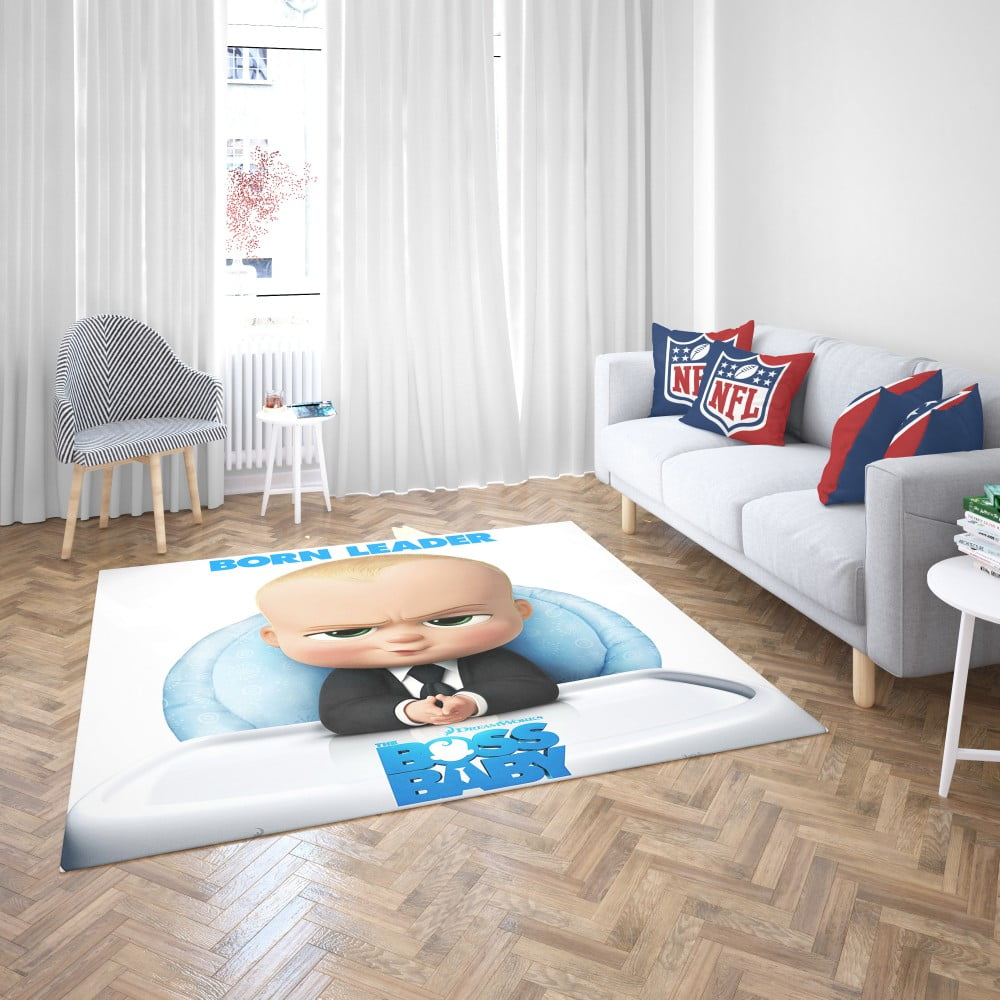 The Boss Baby Animation Movies Bedroom Living Room Floor Carpet Rug |  EBeddingSets