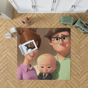 The Boss Baby Movie Bedroom Living Room Floor Carpet Rug 1