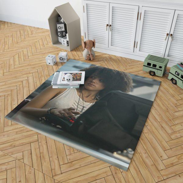 The Fate of The Furious Movie Nathalie Emmanuel Ramsey Bedroom Living Room Floor Carpet Rug 2