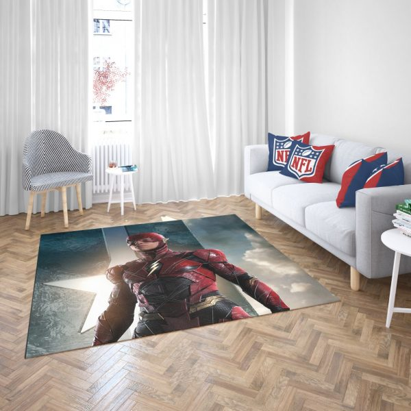The Flash Justice League Bedroom Living Room Floor Carpet Rug 3