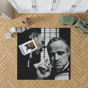 The Godfather Movie Marlon Brando Bedroom Living Room Floor Carpet Rug 1