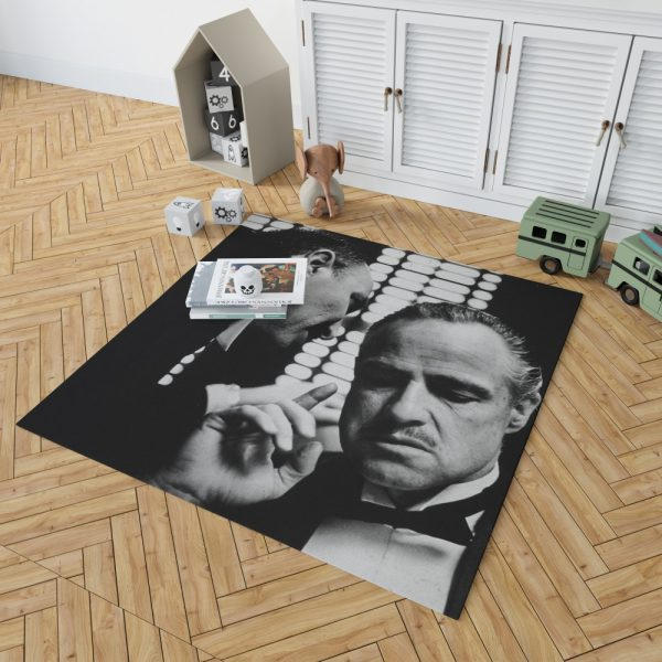 The Godfather Movie Marlon Brando Bedroom Living Room Floor Carpet Rug 2