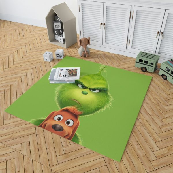 The Grinch Movie Bedroom Living Room Floor Carpet Rug 2