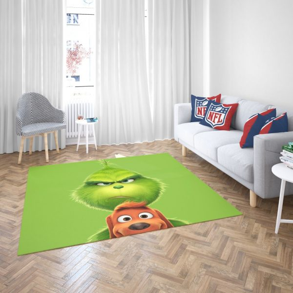 The Grinch Movie Bedroom Living Room Floor Carpet Rug 3