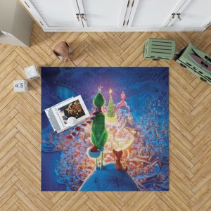 The Grinch Movie Christmas Bedroom Living Room Floor Carpet Rug 1