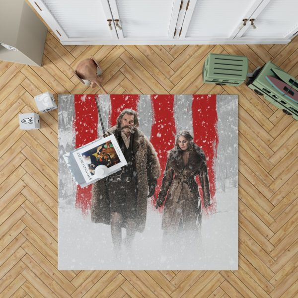 The Hateful Eight Movie Jennifer Jason Leigh Kurt Russell Bedroom Living Room Floor Carpet Rug 1
