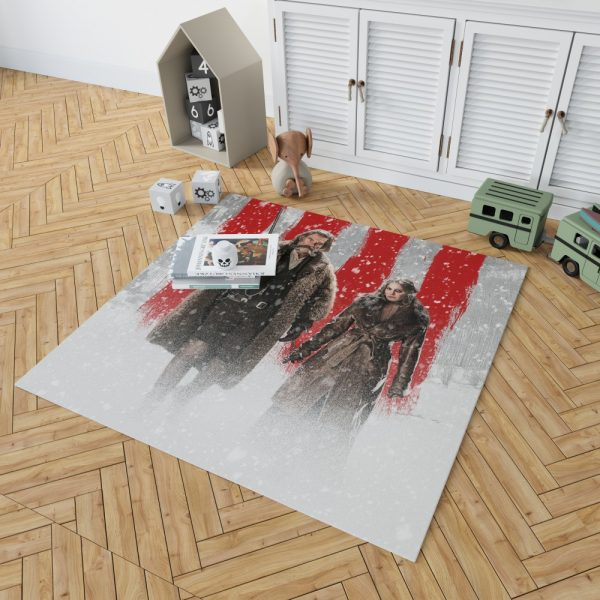 The Hateful Eight Movie Jennifer Jason Leigh Kurt Russell Bedroom Living Room Floor Carpet Rug 2