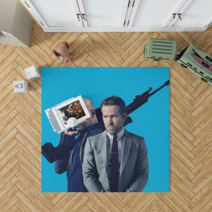 The Hitman's Bodyguard Movie Ryan Reynolds Samuel L Jackson Bedroom Living Room Floor Carpet Rug 1