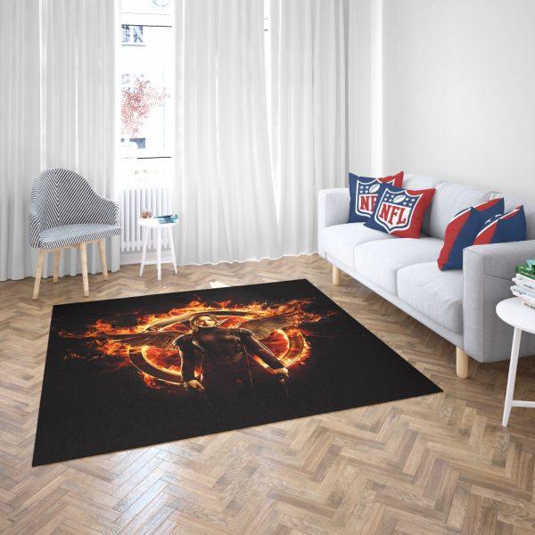The Hunger Games Movie Bedroom Living Room Floor Carpet Rug 3