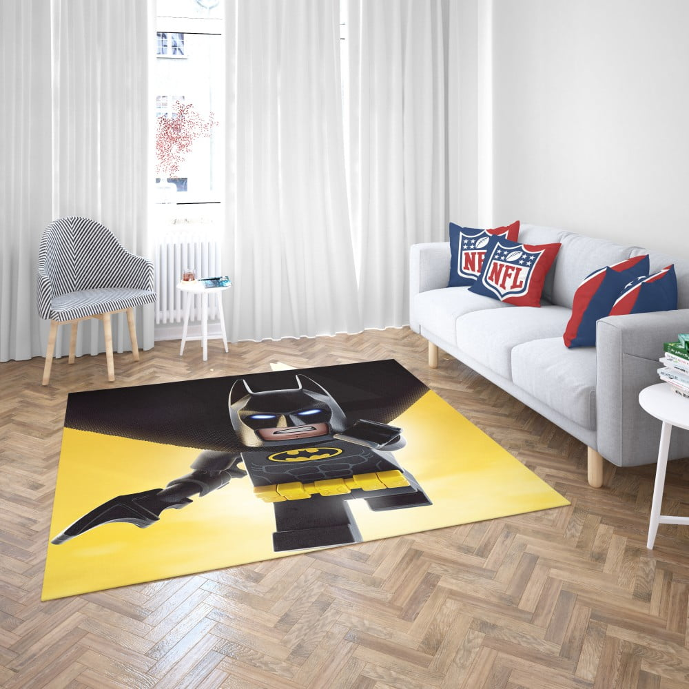 The Lego Batman Movie Bedroom Living Room Floor Carpet Rug