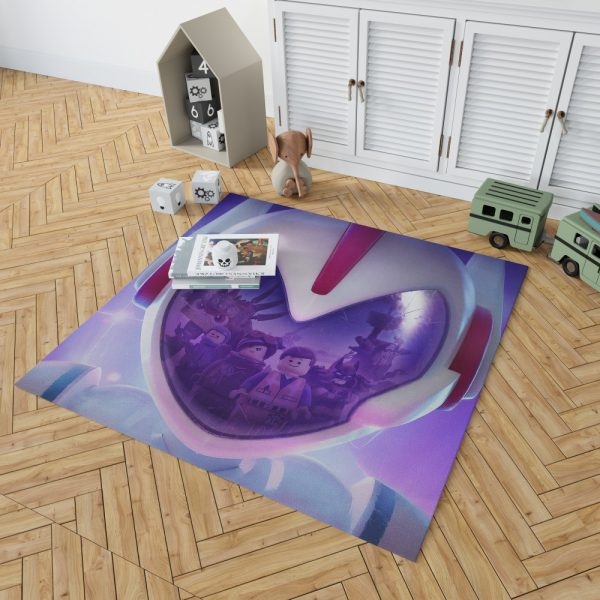 The Lego Movie 2 The Second Part Movie Bedroom Living Room Floor Carpet Rug 2