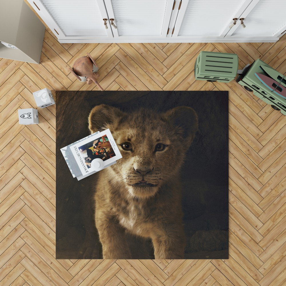 The Lion King 2019 Movie Simba Bedroom Living Room Floor
