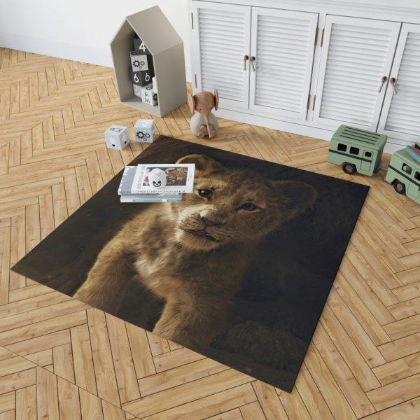 The Lion King 2019 Movie Simba Bedroom Living Room Floor Carpet Rug 2