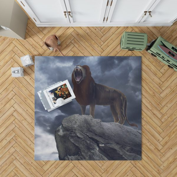 The Lion King 2019 Movie Simba Disney Bedroom Living Room Floor Carpet Rug 1