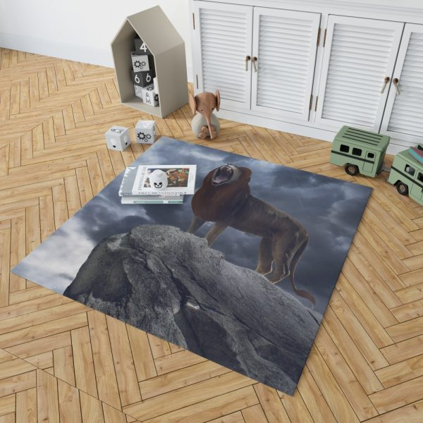 The Lion King 2019 Movie Simba Disney Bedroom Living Room Floor Carpet Rug 2