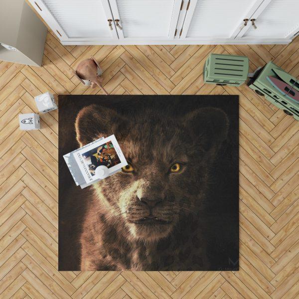 The Lion King 2019 Movie Simba Kids Bedroom Living Room Floor Carpet Rug 1