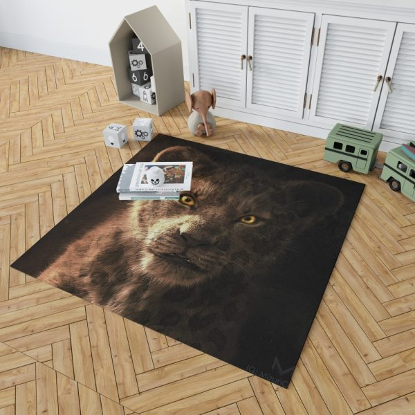 The Lion King 2019 Movie Simba Kids Bedroom Living Room Floor Carpet Rug 2