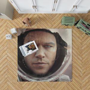 The Martian Movie Matt Damon Bedroom Living Room Floor Carpet Rug 1