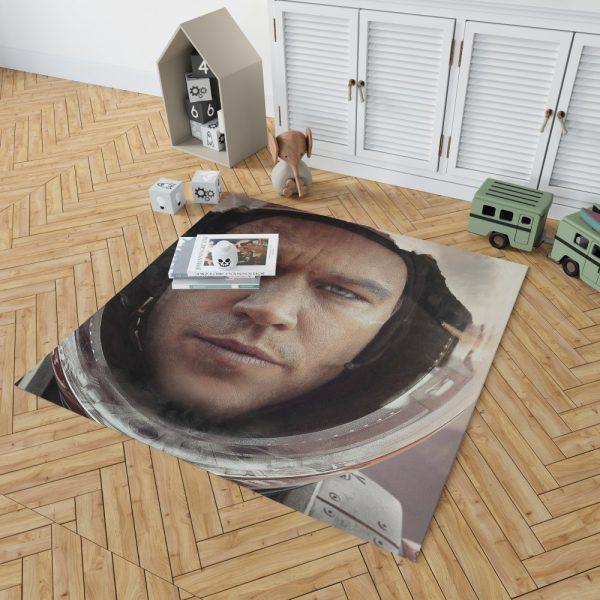The Martian Movie Matt Damon Bedroom Living Room Floor Carpet Rug 2