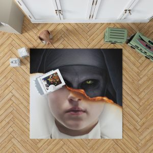 The Nun Movie Evil Girl Bedroom Living Room Floor Carpet Rug 1