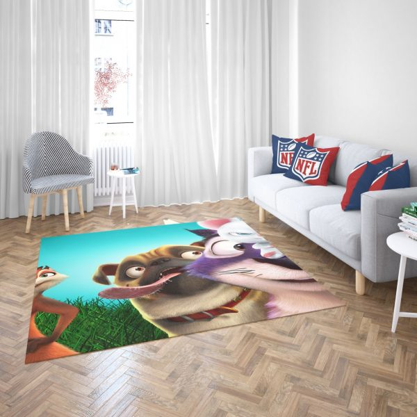 The Nut Job 2 Nutty By Nature Animation Film  Bedroom Living Room Floor Carpet Rug 3