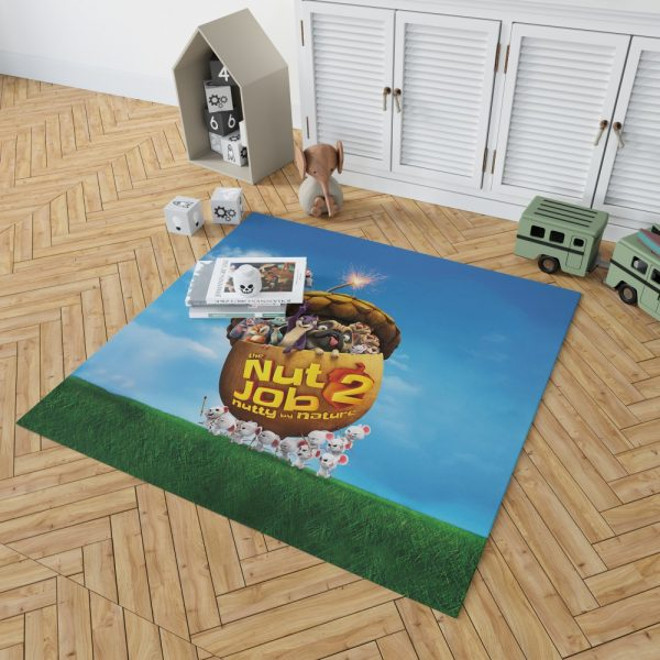 The Nut Job 2 Nutty By Nature Animation Movie Bedroom Living Room Floor Carpet Rug 2