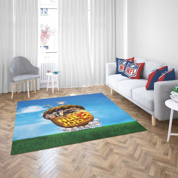 The Nut Job 2 Nutty By Nature Animation Movie Bedroom Living Room Floor Carpet Rug 3