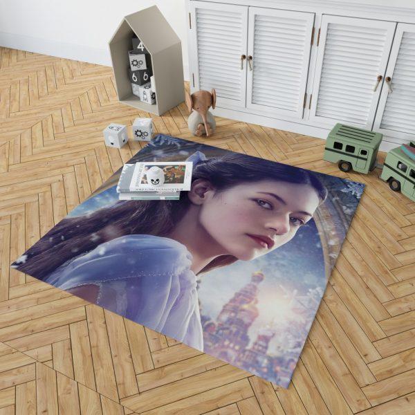 The Nutcracker and the Four Realms Movie Mackenzie Foy Bedroom Living Room Floor Carpet Rug 2