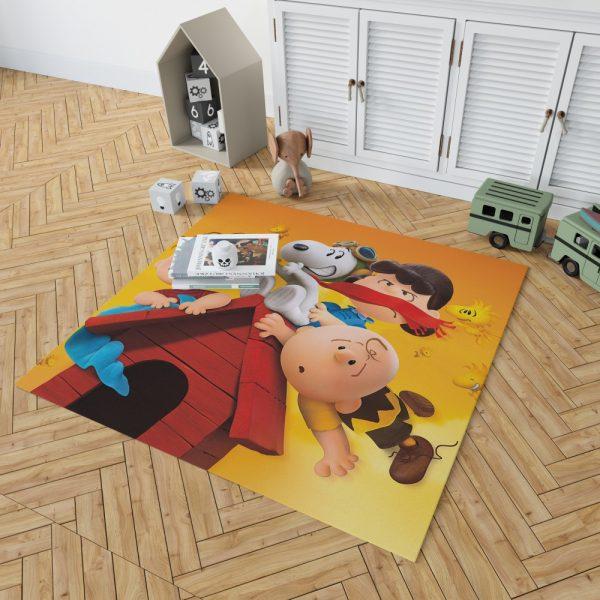 The Peanuts Animation Movie Bedroom Living Room Floor Carpet Rug 2
