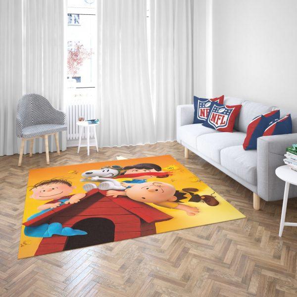The Peanuts Animation Movie Bedroom Living Room Floor Carpet Rug 3